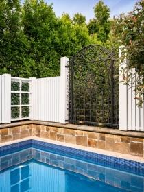 Pool Fence & Trellis